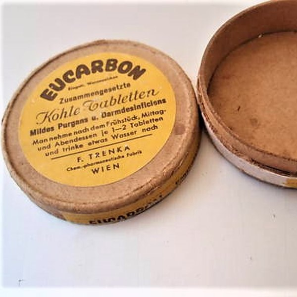 History - Eucarbon box carton WW2